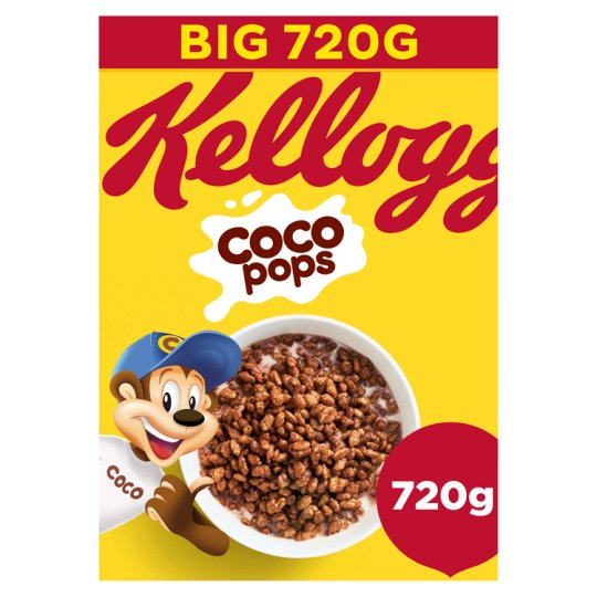 Kelloggs Coco Pops Cereal 720g Tesco Groceries