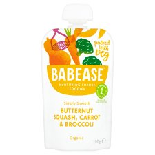 Babease Butternut Squash Carrot And Broccoli 100G
