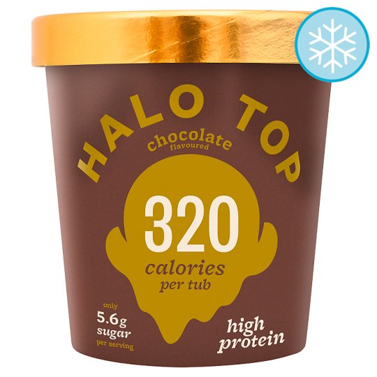 Halo Top Chocolate Flavoured Ice Cream 473Ml