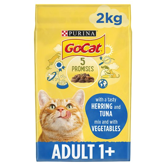 Go-Cat Tuna Herring And Vegetable 2Kg