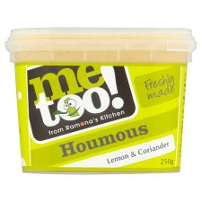 Me Too! Lemon And Coriander Houmous 250G