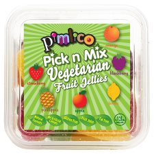 Pimlico Vegetarian Fruit Jellies Mini Mix 200G