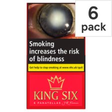 King Six Cigars 6 Pack