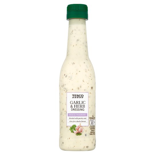 Tesco Garlic And Herb Dressing 250Ml