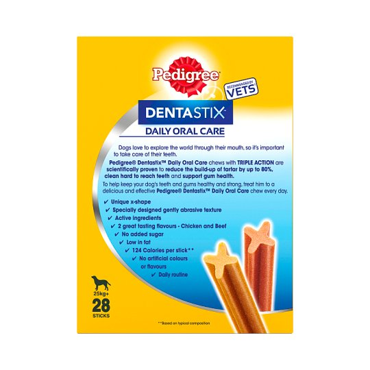 Pedigree DentaStix Large Dental Dog Chews x28 sticks