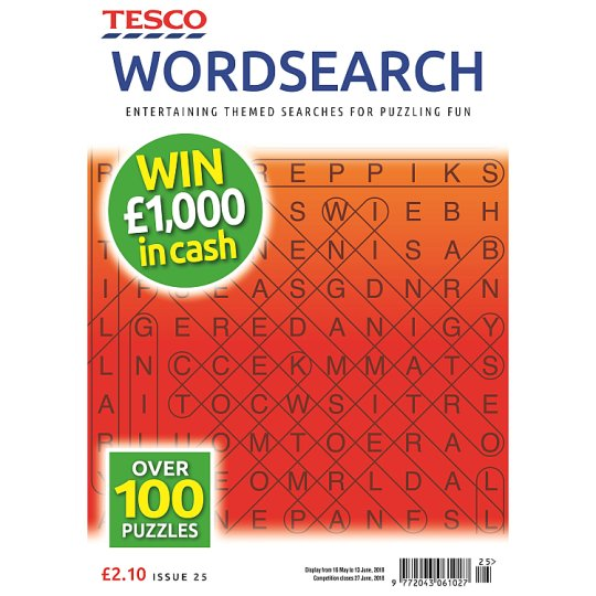 Tesco Wordsearch
