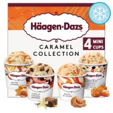Haagen-Dazs Caramel Minicups Ice Cream 4X100ml