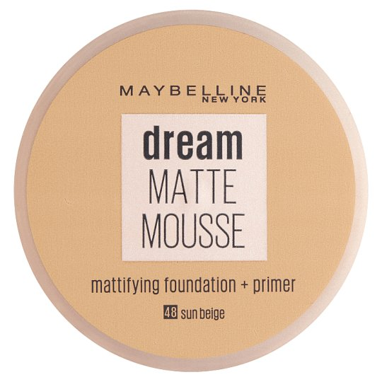 Maybelline Dream Matte Mousse Foundation 048 Sun Beige 18ml