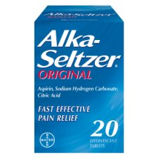 Alka Seltzer Original Tablets 20'S