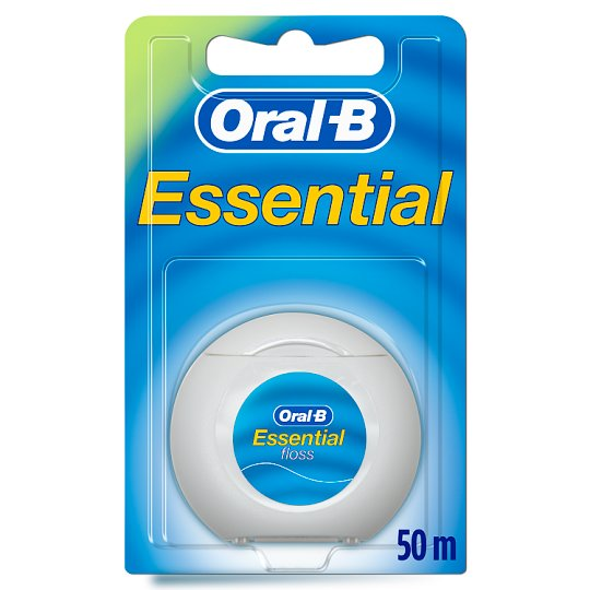 Oral B Essential Floss Mint Waxed 50M