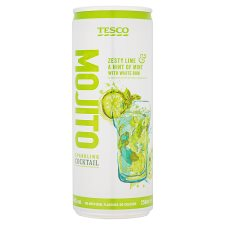 Tesco Mojito Cocktail 250Ml