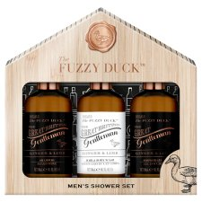 Baylis & Harding Fuzzy Duck Mens Ginger & Lime 3 Piece Giftset