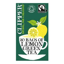 Clipper Organic Fairtrade Lemon Green Tea 20'S