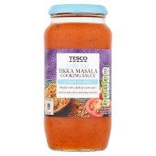 Tesco Low Fat Tikka Masala Sauce 500G
