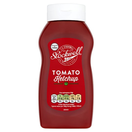 Stockwell And Co Tomato Ketchup 550G