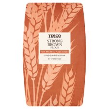Tesco Strong Brown Bread Flour 1.5Kg