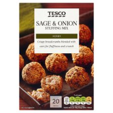 Tesco Sage And Onion Stuffing Mix 340G