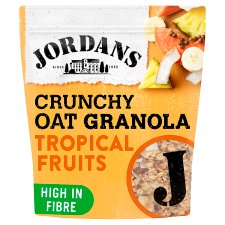 Jordans Crunchy Oat Tropical Fruits Granola 750G