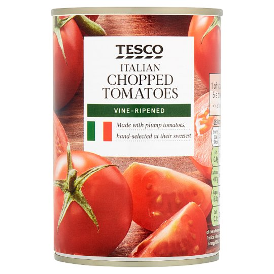 Tesco Italian Chopped Tomatoes 400G