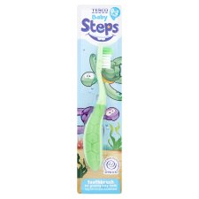 Tesco Steps Turtle Toothbrush 0-2
