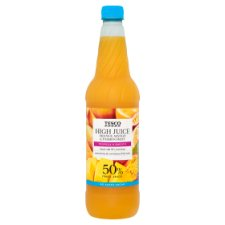 Tesco No Added Sugar Hi Juice Orange/Mango And Passion Fruit 1Ltr