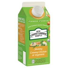New Covent Garden Skinny Creamy Chicken And Vegetable Soup 700G