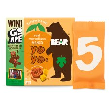 Bear Pure Fruit Yoyo Mango 5 X 20G