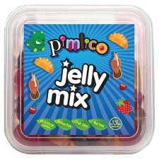 Pimlico Pick & Mix Fizzy And Jelly Mix 200G