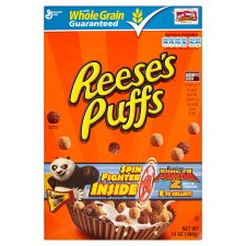 General Mills Reeses Puffs Cereal 368G