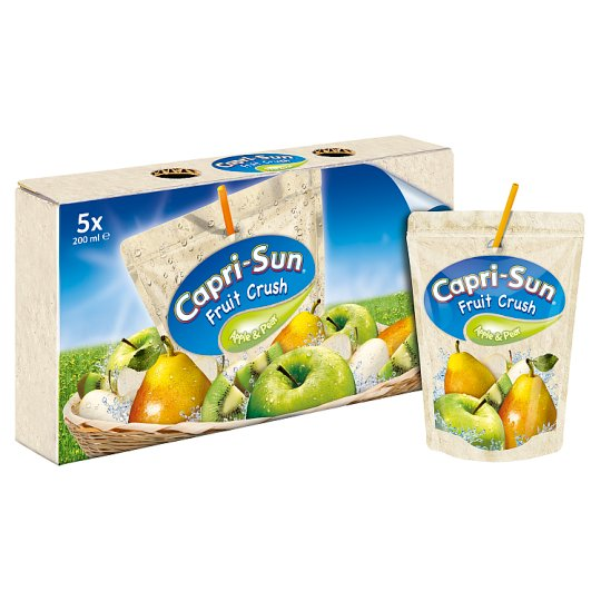 Sun Fruit Crush Apple And Pear 75% Juice 5X200ml