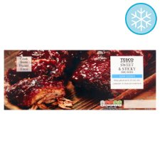 Tesco Sweet And Sticky Bbq Rib Rack 450G
