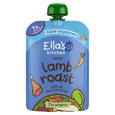 Ella's Kitchen Lamb Roast Dinner 130G