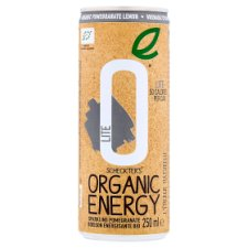 Scheckters Organic Energy Drink Lite 250Ml