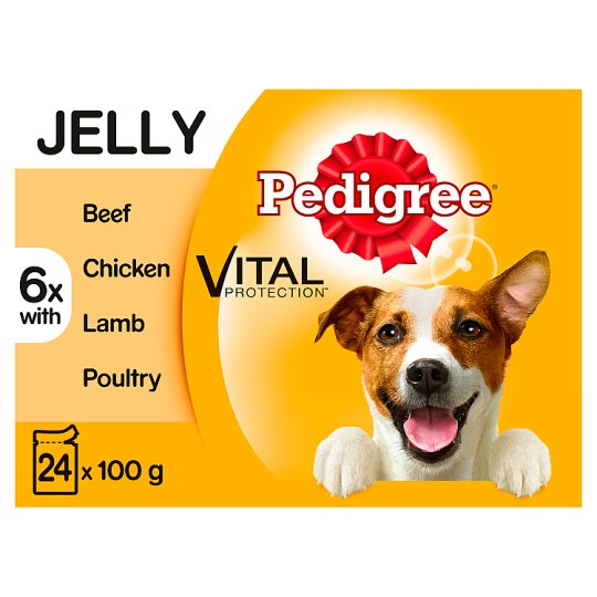 image 1 of Pedigree Jelly Favourites Dog Food Pouches 24 X100g