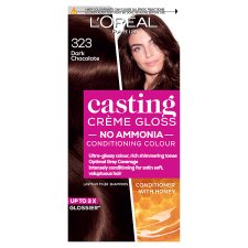 Ccg 323 Dark Chocolate Brown Semi-Permanent Hair Dye