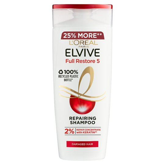 L'oreal Elvive Extreme Damaged Hair Shampoo 500Ml