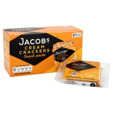 Jacobs Cream Cracker Snackpack 8Pk