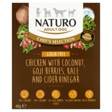 Naturo Grain Free Chicken Adult Dog Food 400G