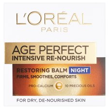L'oreal Paris Age Perfect Re-Nourish Night Balm 50Ml