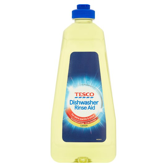 Tesco Dishwasher Rinse Aid Citrus 400Ml