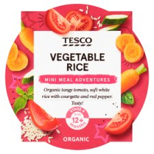 Tesco Vegetable Rice Babyfood 200G