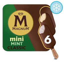 Magnum Mini Classic And Mint Ice Cream 6X 55Ml