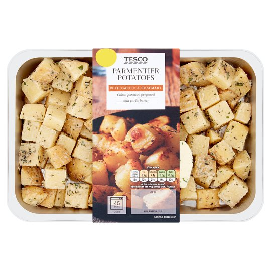 image 1 of Tesco Parmentiers Potatoes 520G