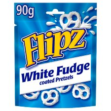 Flipz White Fudge 90G
