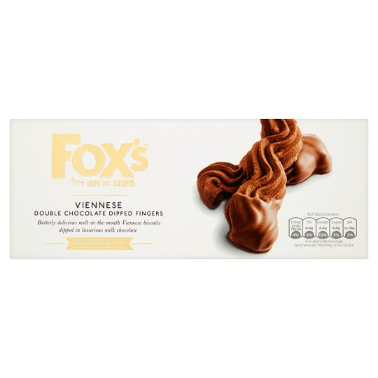 Fox's Viennese Double Chocolate 135G