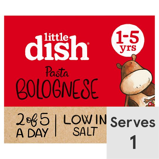 image 1 of Little Dish 1Yr+ Pasta Bolognese Toddler Meal 200G