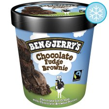 Ben & Jerry's Chocolate Fudge Brownie Ice Cream 500Ml