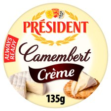 President Camembert Creme Cheese 135G