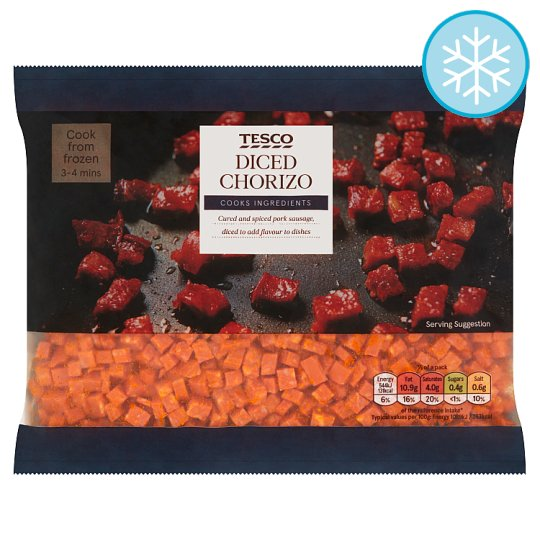 Tesco Diced Chorizo 250G