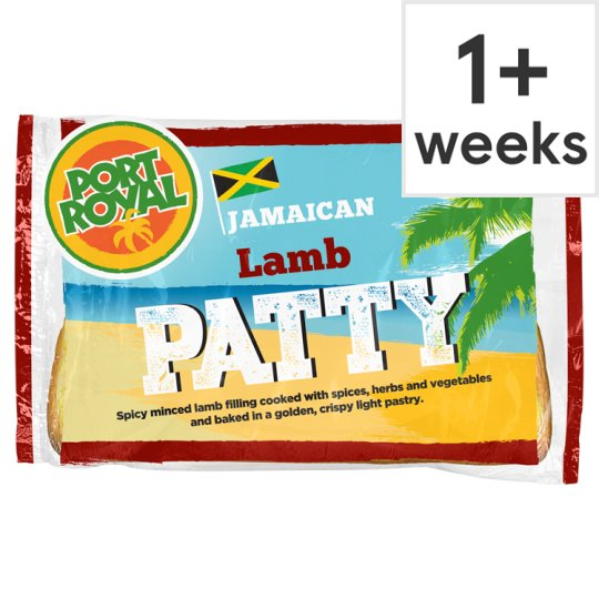 Port Royal Lamb Jamaican Patty 140G